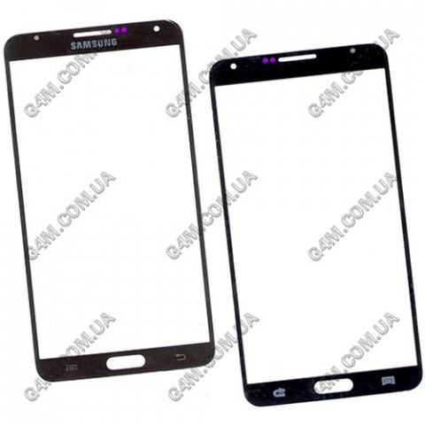Стекло сенсорного экрана для Samsung N900, N9000, N9006 Note III черное