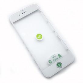 Стекло сенсорного экрана с рамкой и OCA пленкой для Apple iPhone 6: 4.7-дюйма, белое