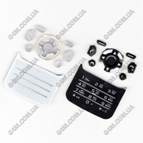 Клавиатура Sony Ericsson F305 чёрная, русская, High Copy