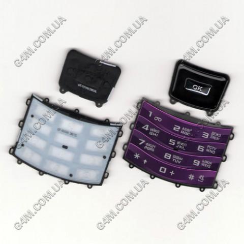 Клавиатура Samsung S5050 русская, High Copy