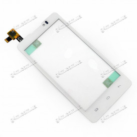 Тачскрин для Prestigio MultiPhone 4505 DUO (PAP4505DUO) белый