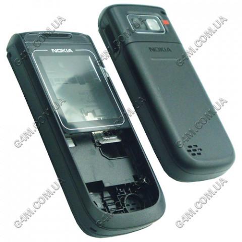 Корпус Nokia 1680 classic черный с средней частью (High Copy)