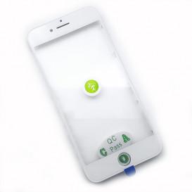Стекло сенсорного экрана с рамкой и OCA пленкой для Apple iPhone 7 белое