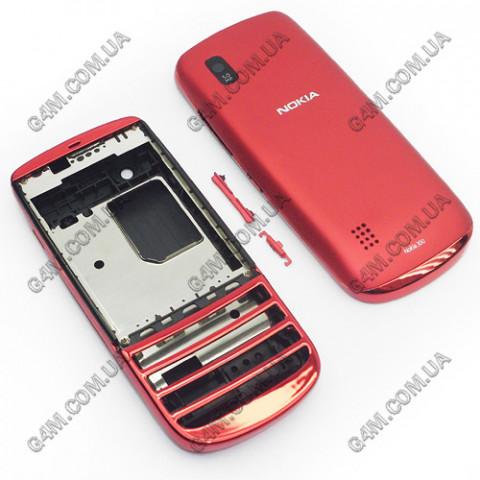 Корпус Nokia Asha 300 красный (High Copy)