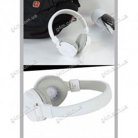 Гарнитура GORSUN GS-779 с микрофоном, белая