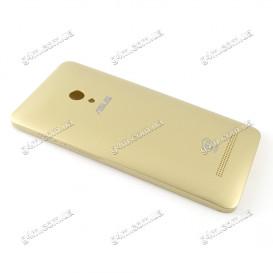 Задняя крышка Asus ZenFone 5 (A501CG) золотистая (High copy)