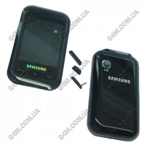 Корпус Samsung C3300 черный с клавиатурой (High Copy)