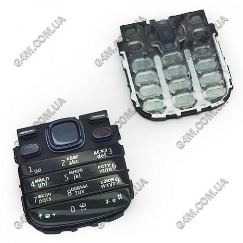 Клавиатура Nokia 2690 темно-синяя, кириллица, Оригинал