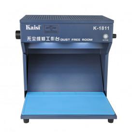 Рабочий стол с вытяжкой и подсветкой K-1811