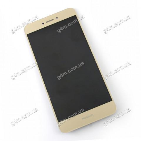 Дисплей Huawei P8 Lite (2017 года) с тачскрином, золотистый