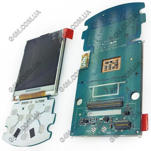 Дисплей Samsung J700 на плате с подложкой (Оригинал)