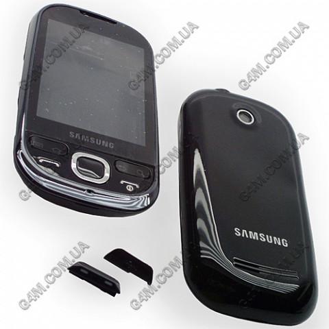 Корпус Samsung i5500 Galaxy черный с клавиатурой (High Copy)