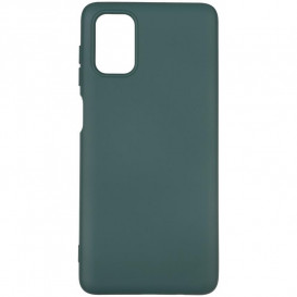 Чехол накладка Full Soft Case Samsung M515 (M51) темно-зеленая