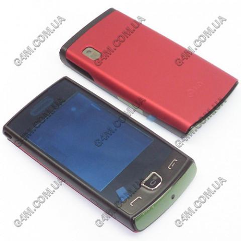 Корпус LG P520 красный с клавиатурой (High Copy)