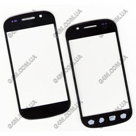 Стекло сенсорного экрана для Samsung i9020 Nexus S черное