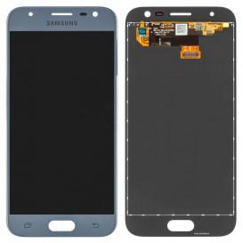 Дисплей Samsung J330 Galaxy J3 (2017 года) с тачскрином, серебристый, копия