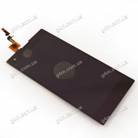 Дисплей Fly IQ4511 Octa Tornado One с тачскрином, черный