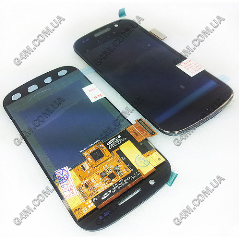 Дисплей Samsung i9020 Google Nexus S с тачскрином черный (Оригинал)