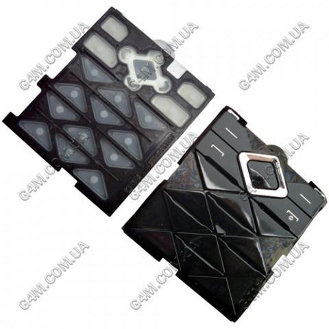 Клавиатура Nokia 7900 Prism черная, русская, High Copy
