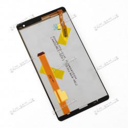 Дисплей HTC Desire 600 Dual sim, Desire 606w с тачскрином, черный (Оригинал)