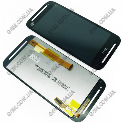 Дисплей HTC Desire 608T с тачскрином, черный
