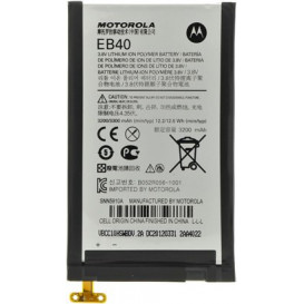Аккумулятор EB40 для Motorola XT910, XT912, XT916