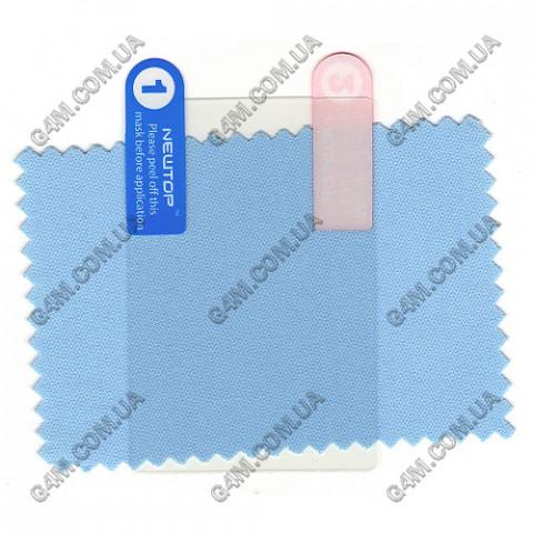 Защитная пленка для LG T300 прозрачная глянцевая