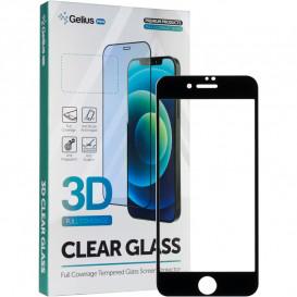 Защитное стекло Full Screen для Apple Watch 38mm  (3D стекло черного цвета)