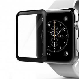 Защитное стекло Full Screen для Apple Watch 42mm (3D стекло черного цвета)