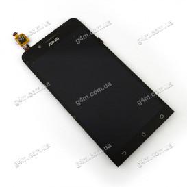 Дисплей Asus ZenFone Go (ZC500TG) с тачскрином, черный
