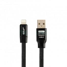 USB дата-кабель Golf Momory Apple iPhone 6 черный (GC-56i)