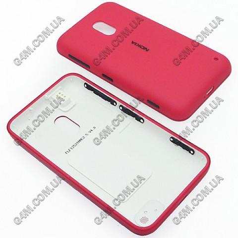 Корпус Nokia Lumia 620 красный (High Copy)