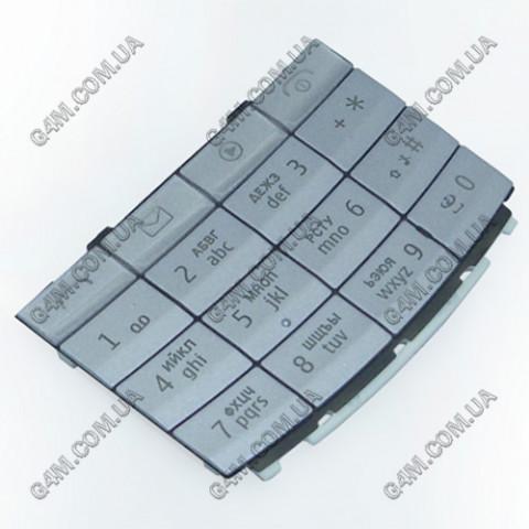 Клавиатура Nokia X3-02 цвета-акация, русская (Оригинал)
