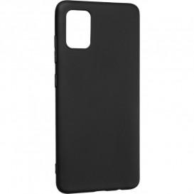 Накладка силиконовая Silicon Case Samsung A515 (A51) черная