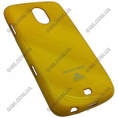 Накладка пластиковая MERCURY для Samsung i9250 Galaxy Nexus желтая