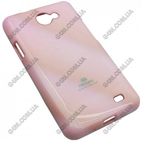Накладка пластиковая MERCURY для Samsung i9103 Galaxy R розовая