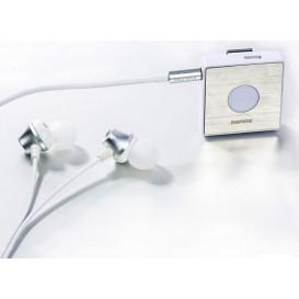 Гарнитура Bluetooth Remax RB-S3 белая (Оригинал)