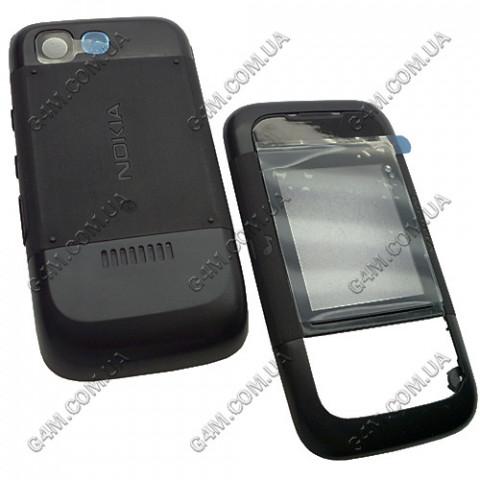 Корпус Nokia 5200 Xpress Music черный (панельки) High Copy
