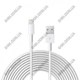 USB дата-кабель GRIFFIN (3метра) для Apple iPhone 5, Apple iPhone 5C, Apple iPhone 5S, Apple iPhone 5SE, Apple iPhone 6, Apple iPhone 6 Plus, Apple iPhone 6S, Apple iPhone 6S Plus, Apple iPhone 7, Apple iPhone 7 Plus купить по выгодной цене