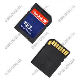 Адаптер карты памяти Micro SD на SD