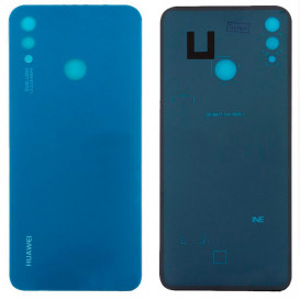 Задняя крышка для Huawei P Smart Plus (INE-LX1) синяя (Оригинал)