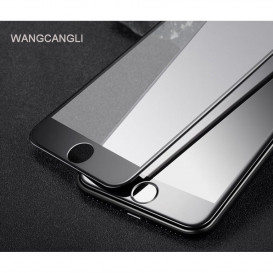 Защитное стекло Optima 5D для Huawei Y6 (2019) (5D стекло черного цвета)