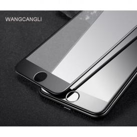 Защитное стекло Optima 5D для Apple iPhone SE (2020) (черное 5D стекло)
