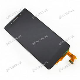 Дисплей Huawei HONOR 7 с тачскрином, черный