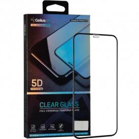 Защитное стекло Gelius Pro Clear Glass для iPhone 12 Pro Max (черное 5D стекло)