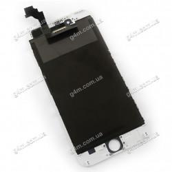 Дисплей Apple iPhone 6 Plus с тачскрином и рамкой, белый, Оригинал