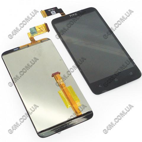 Дисплей HTC T328D Desire VC с тачскрином черный (Оригинал)